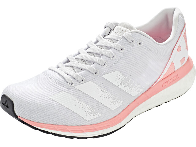 adidas Adizero Boston 8 Schoenen Dames, dash grey/footwear white/glory pink